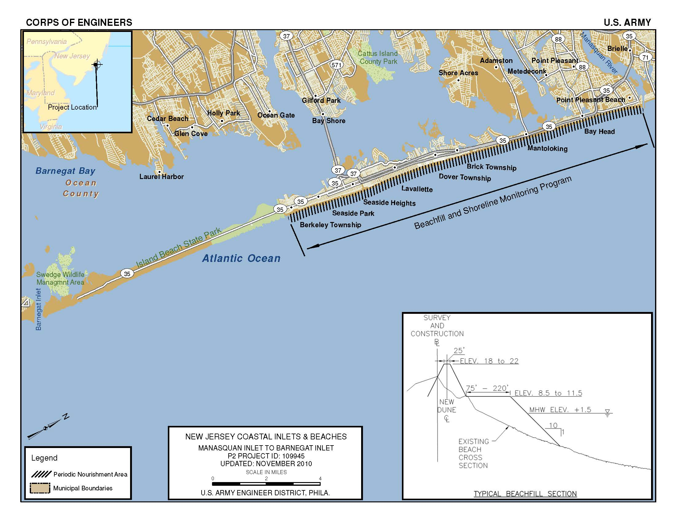 Army Corp of Engineers Project   Seaside Heights Borough, NJ Seaside Nj Map on redding nj map, pittsburgh nj map, hawthorne nj map, salem nj map, springfield nj map, fairview nj map, washington county nj map, medford nj map, richmond nj map, orange nj map, jersey shore map, newport nj map, new jersey coast map, radburn nj map, crater lake nj map, florence nj map, great falls nj map, avon nj map, nj beach map, spring lake nj map,